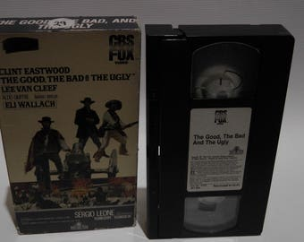 the good, the bad, and the ugly on vhs