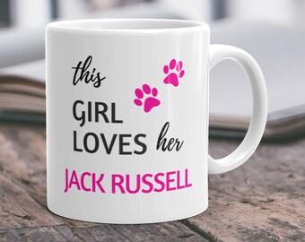 Jack Russell Mug Jack Russell Gift Jack Russell Dog Jack Russell Terrier Jack Russell Coffee Jack Russell Cup I Love Jack Russell Terriers