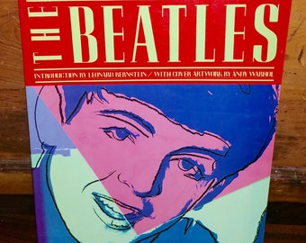 The Beatles Vintage Paperback Biography Coffee Table Book