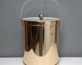 60's georges briard old tall ice bucket