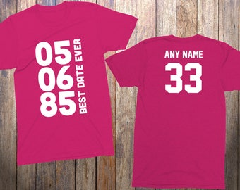 33rd Birthday Gifts For Her 33 Year Old Him 1985 Shirt Best Date
