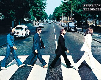 The Beatles - Abbey Road Crossing - GB Eye Licensed Poster