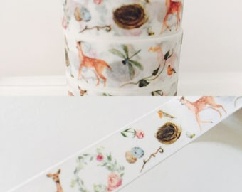 Whimsical Deer Washi Tape