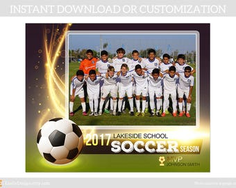 Soccer Memory Mate Template,Custom Sports Template