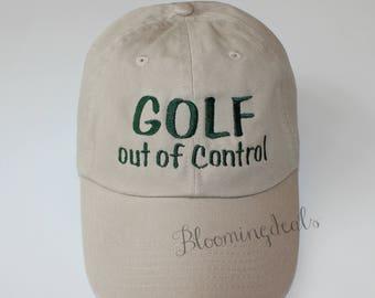 Custom Baseball Caps, Golf Ball Cap Custom Embroidery, Classic Dad Cap, Gifts for Him