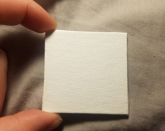 Custom 1.5 in by 1.5 in mini canvas (examples in photos)