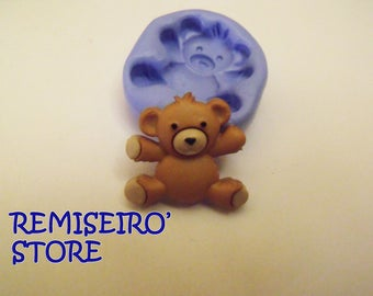 Small bear, teddy bear, brown teddy bear 20 mm