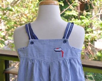 Brilliant 80's Sailor Dress, size 6