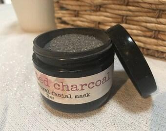 Activated Charcoal All-Natural Facial Mask Powder