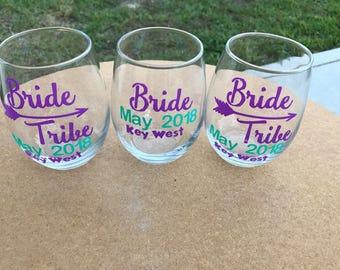 Assortment BrideTribe Wine Glass 15oz