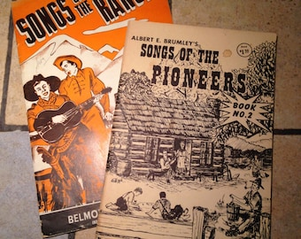 Songs of the Range and Songs of Pioneers Song Booklets