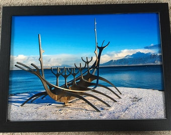 The Sun Voyager  - A3 Photo Mounted/Framed