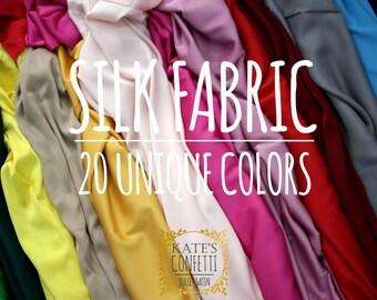 Silk Satin Fabric, Soft Luxury Wedding Silk Fabric, Lingerie Lining Silk Material, Wholesale Silk Fabrics, Silk Fabric By Yard - 1.50m wide