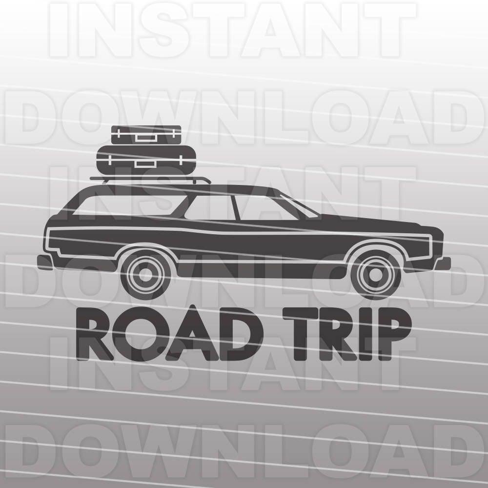 station wagon svg fileroad trip svgfamily vacation svg