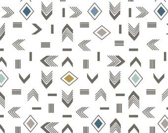 Arrow Crib Sheet - Aztec Crib Sheets / Crib Bedding Set / Changing Pad Cover / Babyletto Mini Crib Sheets /Nursery Bedding Packnplay Sheet