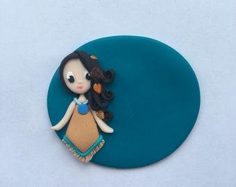 Indian Princess little nurse badge