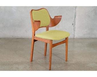 Hans Olsen Bent Teak And Oak Arm Chair (EWGKAQ)