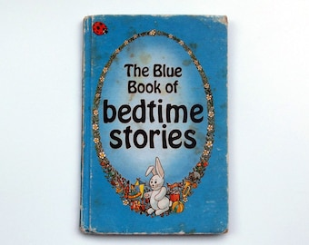 Vintage Ladybird Book - The Blue Book of Bedtime Stories- good vintage condition - Children's Story Book