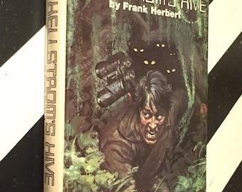 Hellstrom's Hive by Frank Herbert (1973) hardcover book