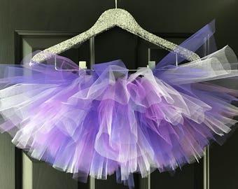 Light purple, dark purple and lilac purple tutu, birthday tutu, photography prop, cake smash tutu , birthday tutu, first birthday,