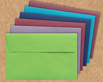 A1 Invitation Envelopes (3 5/8 x 5 1/8) - LUX - Pick A Color - Quantity of 50