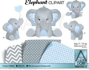 elephant clipart etsy rh etsy com baby elephant clip art cute baby elephant clipart girl
