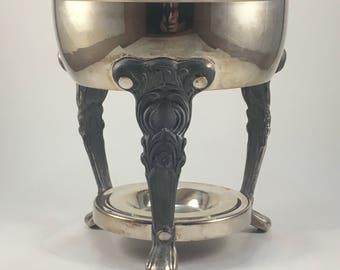 Sheridan Antique Silver Fondue Tray