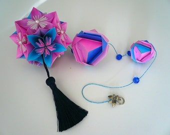 Origami Decorative Kusudama / Origami Flowers