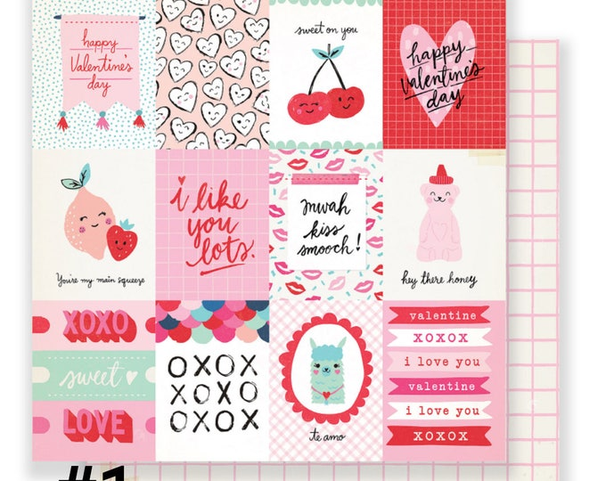 Main squeeze crate paper 12x12 single sheets