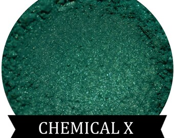 Teal Green Eyeshadow  CHEMICAL X