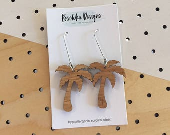 Bamboo Palm Tree Dangles