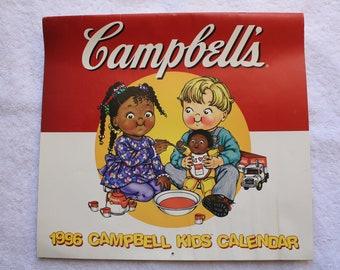 1996 Campbell Kids Calendar