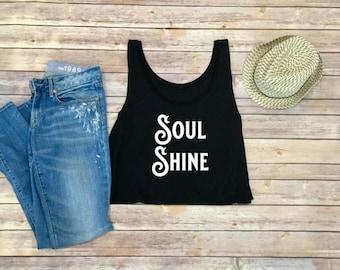 SoulShine Women's Tank - Women's Shirt - Shirt for Women- Boho Women's Shirt - Women's Tank Top - Tank Top for Women- Boho Shirt for Women