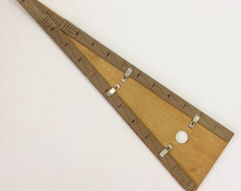 Victorian Dressmakers Drafting Tool
