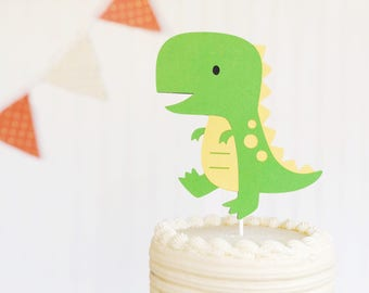 dinosaur / smash cake / cake topper / first birthday / baby shower / new baby