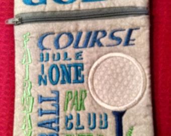 Golf, Golf Holder, Tee Holder, Golf Bag