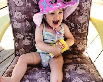 Llama Floppy Hat, Sun Hat, Sun Bonnet, Beach Hat