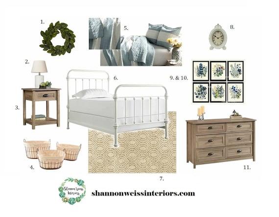 Bedroom e design affordable interior design services for Cheap interior design services