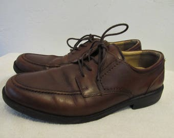 Men's Stylin' Vintage 90's,Pointy Brown Leather OXFORD Shoes By CHAPS.10.5