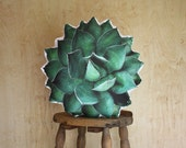 Ruth Agave Succulent Pillow (Agave Shawii)