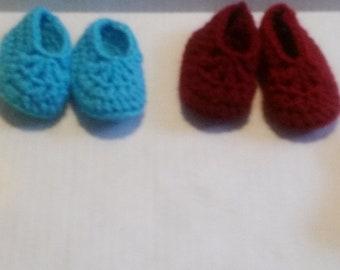 Crochet Baby Booties Newborn-3 Months