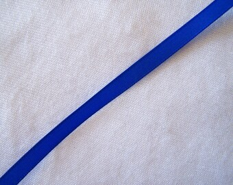 Navy Blue taffeta Ribbon (T - 933)