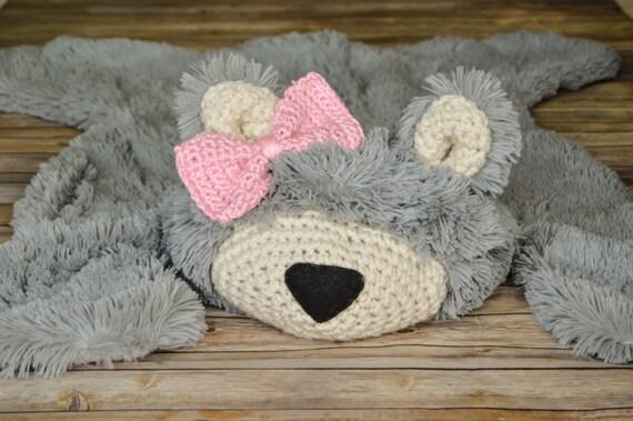 Nursery Rug Super Soft Bear Rug Plush Rug