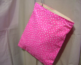 Clothespin Bag Hanging Polka Dots
