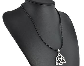 Triquetra Celtic Knot necklace