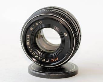 MC Helios-81N (Н) 2/50 Russian Biotar copy Kiev lens