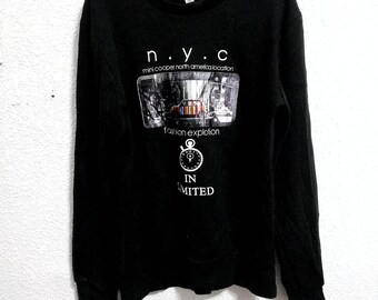 Nice Design N.Y.C Fashion Explotion in Limited Sweatshirt Black Colour