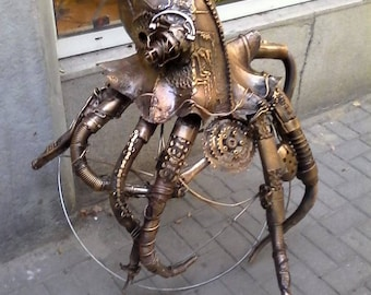 Mechanical octopus