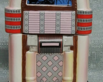 A Juke Box Cookie Jar ~ Item 497