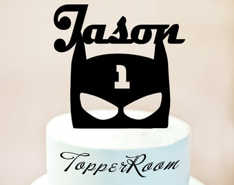 Batman cake topperBatman birthday cake topperBatman